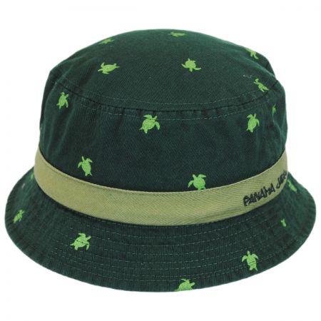 Kids' Nautical Animal Cotton Bucket Hat alternate view 1