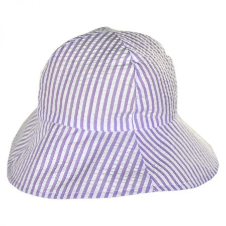 Baby Seersucker Cotton Bucket Hat alternate view 1