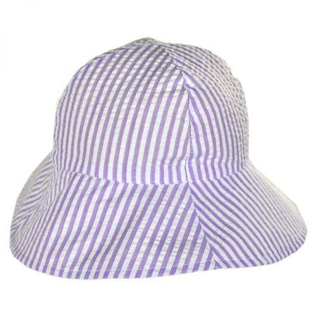 San Diego Hat Company Seersucker Infant Bucket Hat