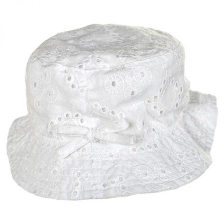 Baby Eyelet Cotton Bucket Hat alternate view 1