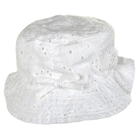 San Diego Hat Company Baby Eyelet Cotton Bucket Hat