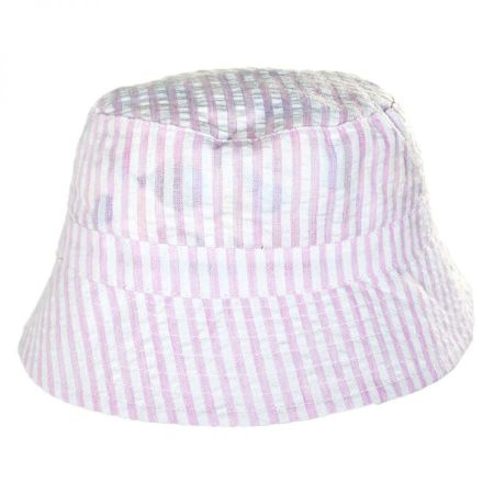 San Diego Hat Company Baby Gingham Cotton Bucket Hat