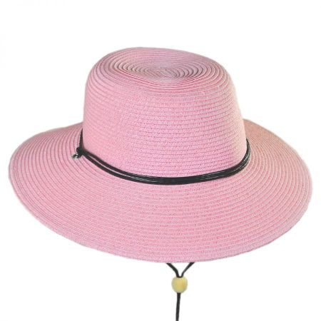 Kids' Chincord Toyo Straw Sun Hat