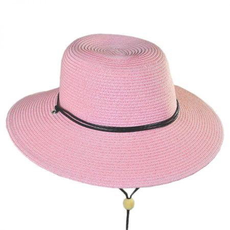 San Diego Hat Company Kids' Chincord Toyo Straw Sun Hat