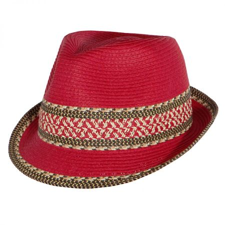 Toucan Collection Mayan Packable Fedora Hat