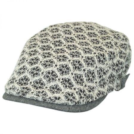 Hatch Hats Dublin Lacy Linen and Cotton Driver Cap