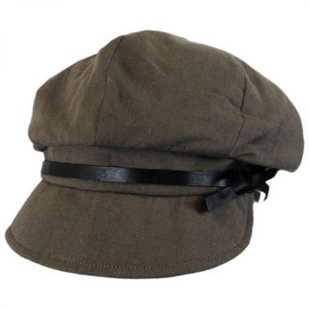 Hatch Hats Paris Linen and Cotton Casquette Cap