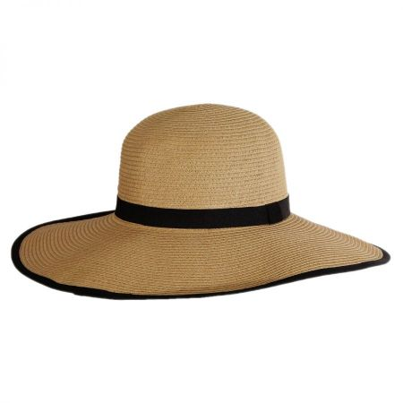 Packable Toyo Straw Wide Brim Sun Hat alternate view 2