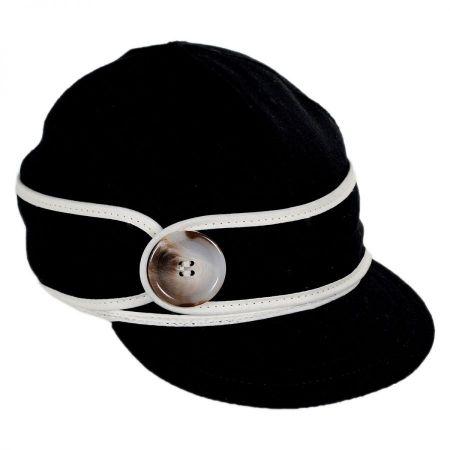 Button Up Wool Cap