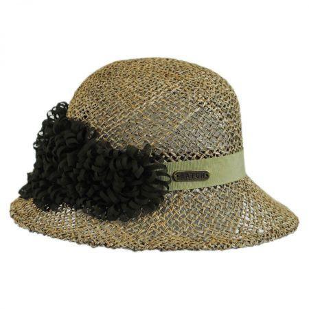 Hatch Hats Seagrass Straw Cloche Hat