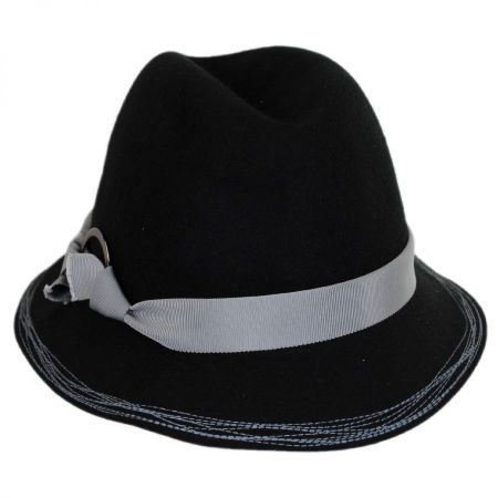 Hatch Hats Inspector Wool Felt Fedora Hat