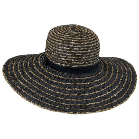 Toucan Textured Straw Beach Sun Hat