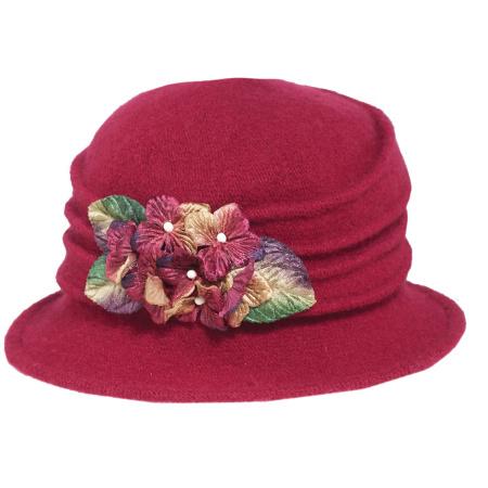 Autumn Wool Felt Cloche Hat alternate view 1