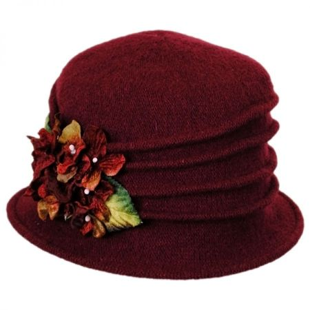 Toucan Autumn Wool Cloche Hat