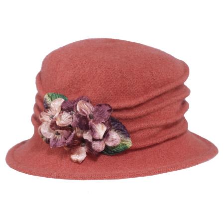Autumn Wool Felt Cloche Hat alternate view 7