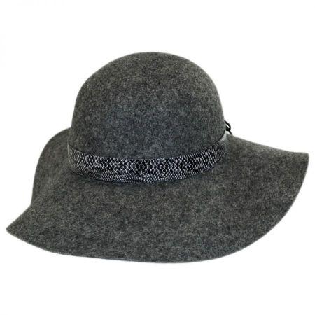 Hatch Hats Serpent Band Wool Felt Floppy Hat