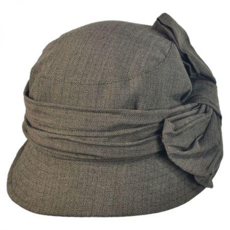 Herringbone Crushable Cloche Hat alternate view 1