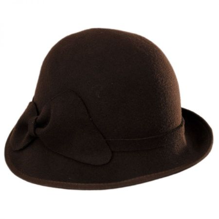 Swan Hats 'Cashmere' Cloche Hat