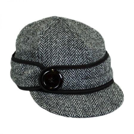 Stormy Kromer Harris Tweed Wool Button Up Cap