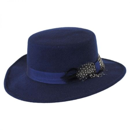 Swan Hats 'Cashmere' Boater Hat