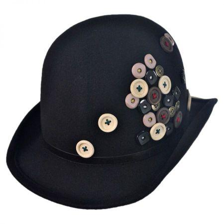 Toucan Button Derby Hat