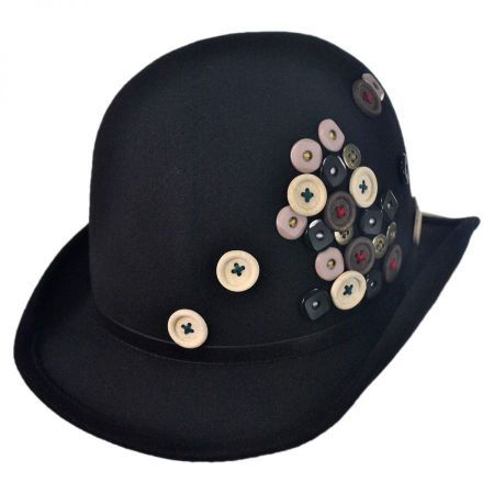 Toucan Collection Button Derby Hat