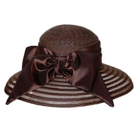 Sheer Brim Lampshade Hat