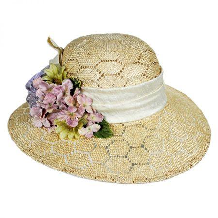 Bouquet Sisal Straw Sun Hat