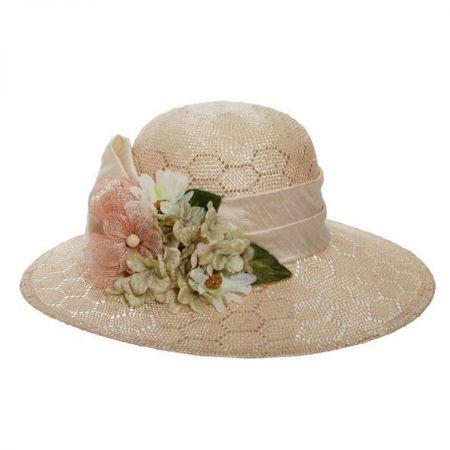 Bouquet Sisal Straw Sun Hat alternate view 5