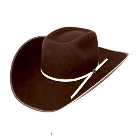 Tuff Hedeman Collection Snake Eyes Wool Felt Western Hat - Made to Order alternate view 5