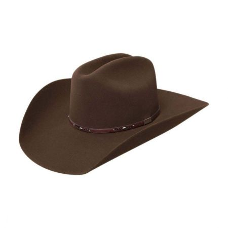 Resistol George Strait Collection Palo Duro Fur Felt Western Hat - Made to Order