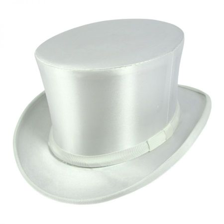 Satin Collapsible Opera Top Hat alternate view 7