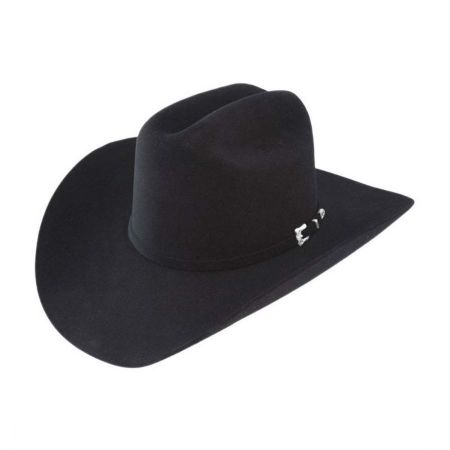 Premier Collection Black Gold 20X Fur Felt Western Hat - Made to Order alternate view 7