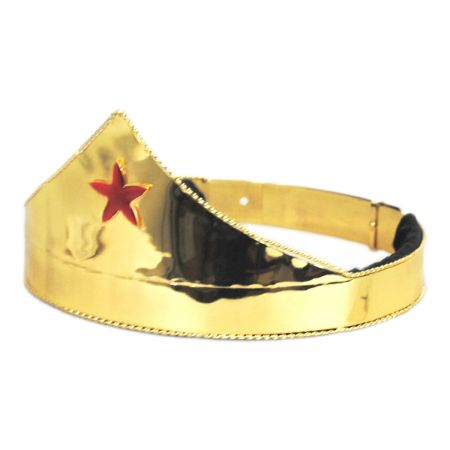 Elope Red Star Adjustable Crown
