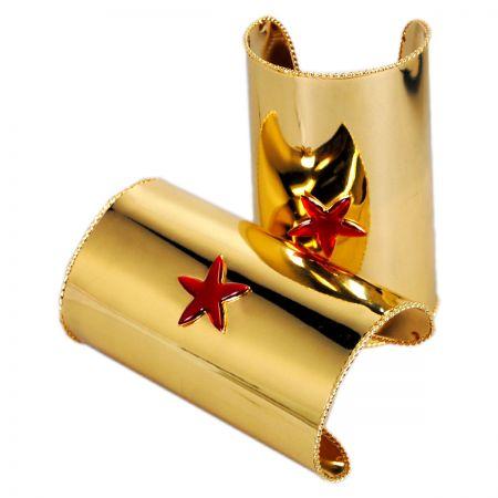 Elope Red Star Cuffs