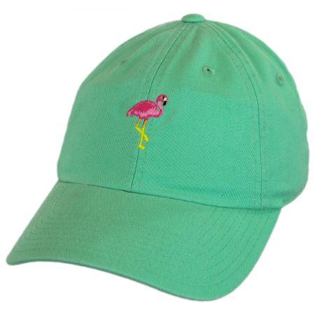 American Needle Micro Flamingo Strapback Baseball Cap