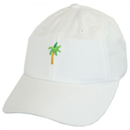 American Needle Micro Palm Tree Strapback Baseball Cap