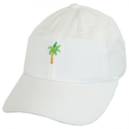 American Needle Micro Palm Tree Strapback Baseball Cap