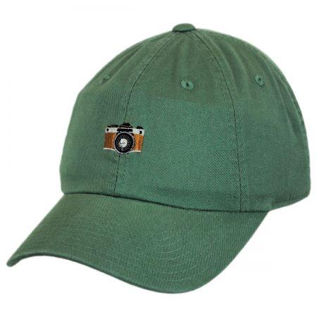 American Needle Micro Camera Strapback Baseball Cap