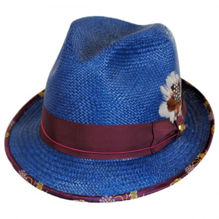 Navy Blue Fedora at Village Hat Shop 7799adcd4cf