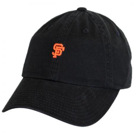 American Needle San Francisco Giants MLB Micro Logo Strapback Baseball Cap