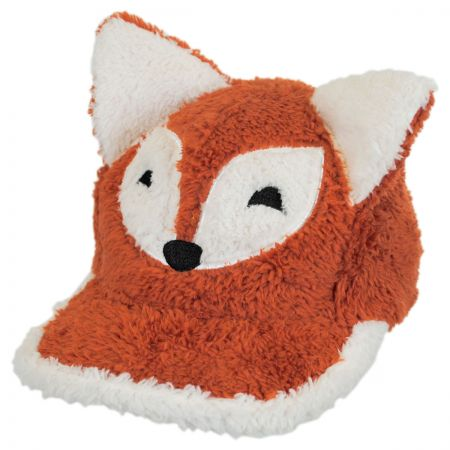 Elope Fox Furry Adjustable Baseball Cap
