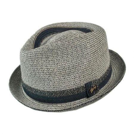 Bailey Archer Toyo Straw Braid Fedora Hat