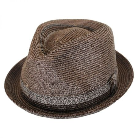 Archer Toyo Straw Braid Fedora Hat alternate view 1