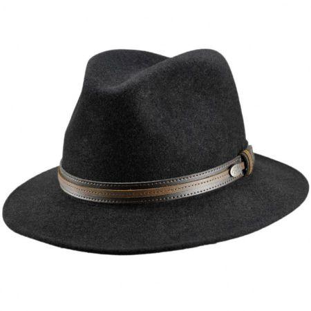 Brandt Lanolux Wool Felt Fedora Hat