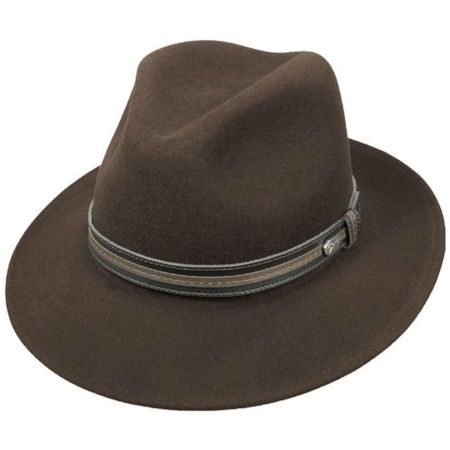 Brandt Lanolux Wool Felt Fedora Hat alternate view 8