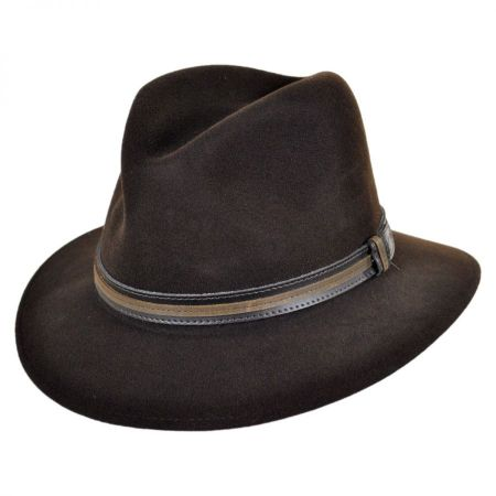 Brandt Lanolux Wool Felt Fedora Hat alternate view 3