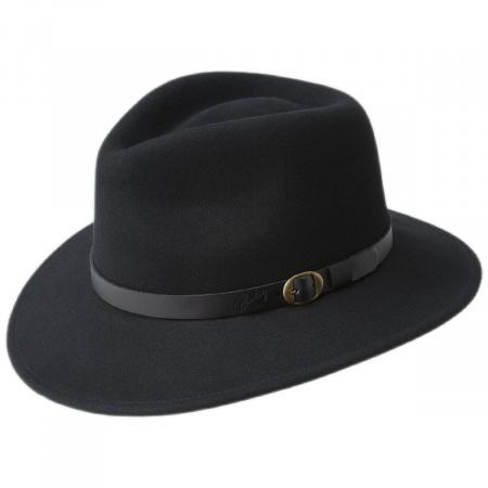 Briar Wool Felt Fedora Hat