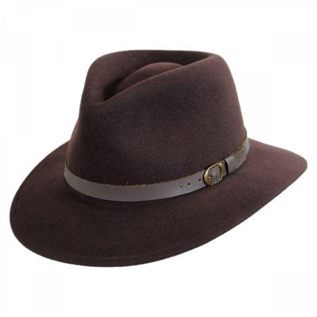 Bailey Briar Wool Felt Fedora Hat