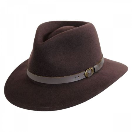 Briar Wool Felt Fedora Hat alternate view 4